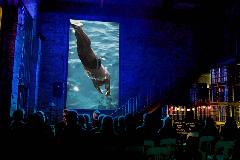 2nd Vertical Film Festival, Katoomba, Australia. 21 May 2016. Photo by Natasha Sebire.