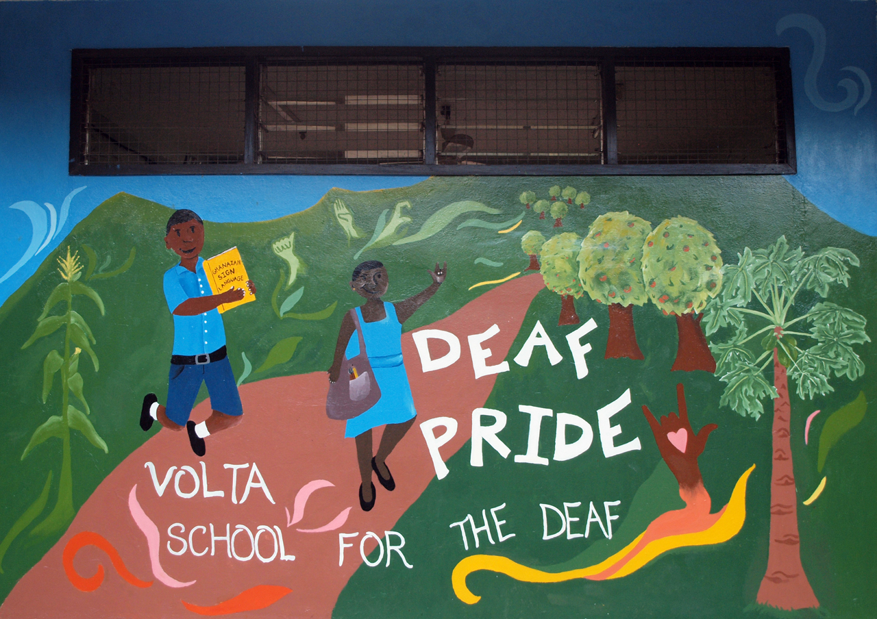 Deaf Pride Mural