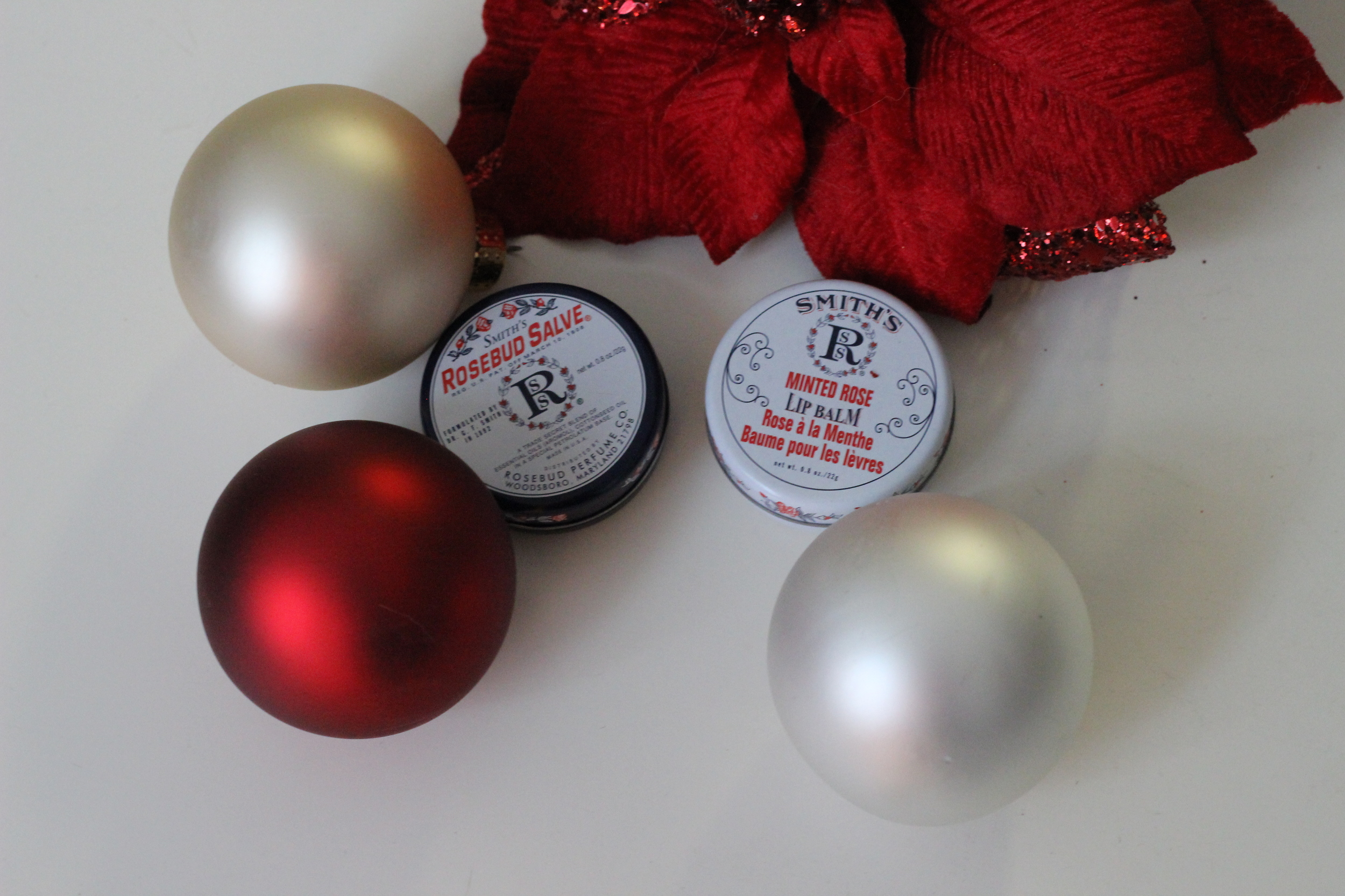 Smith's Rosebud Salve and Minted Rose