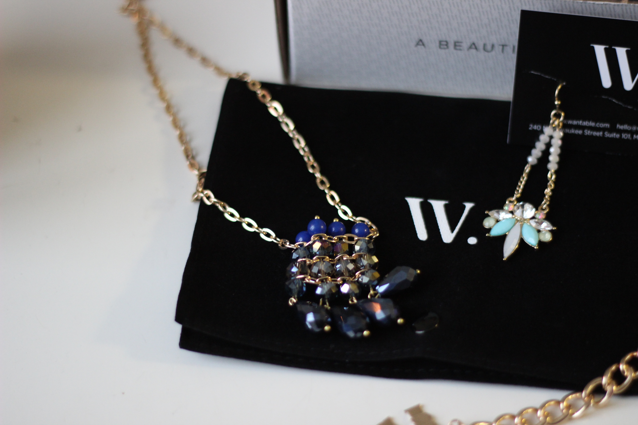 Abigail Necklace from February Wantables Box