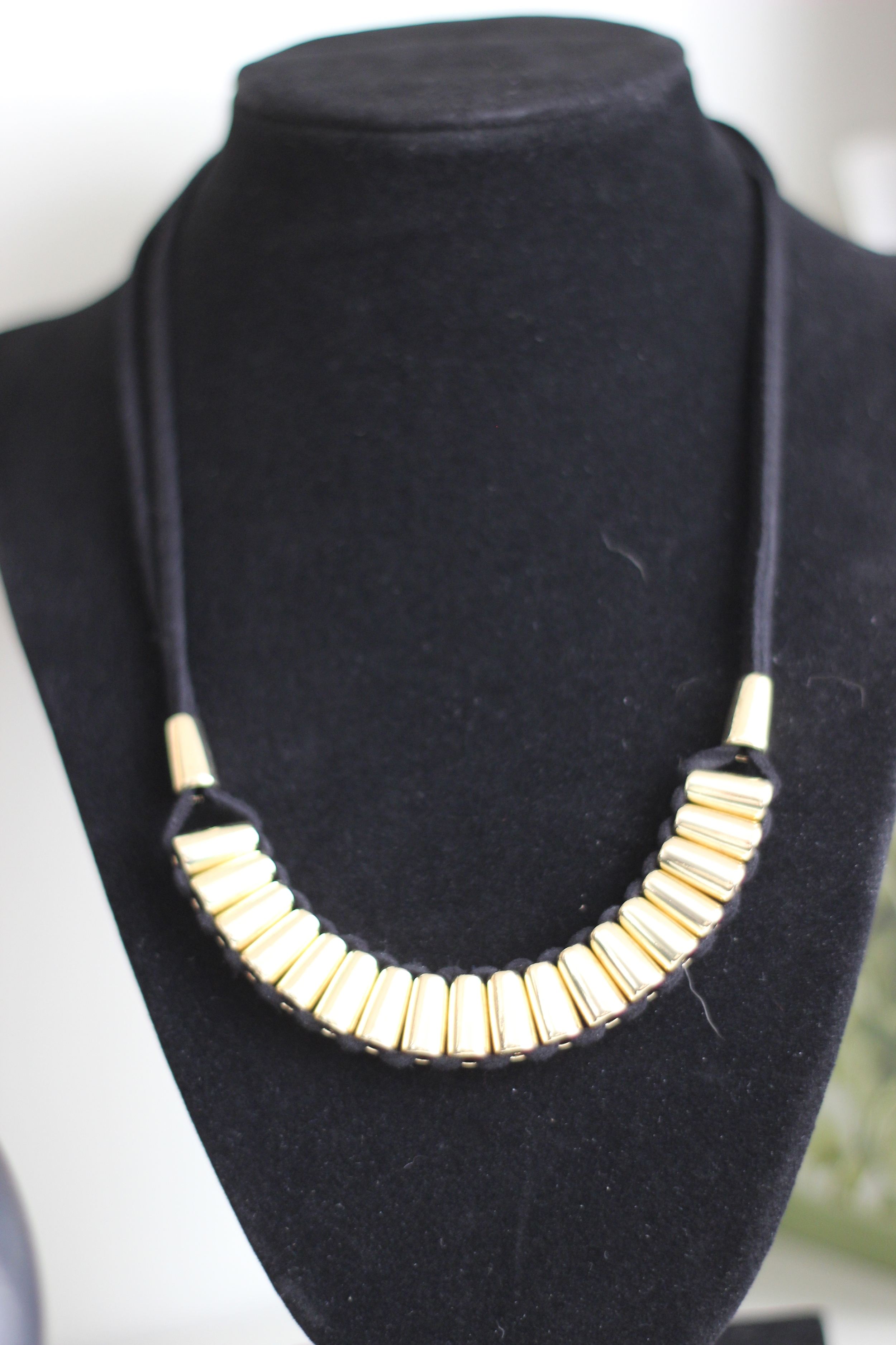 March Wantable Box- Bally Necklace Gold. I rally like this necklace and am happy to have it!