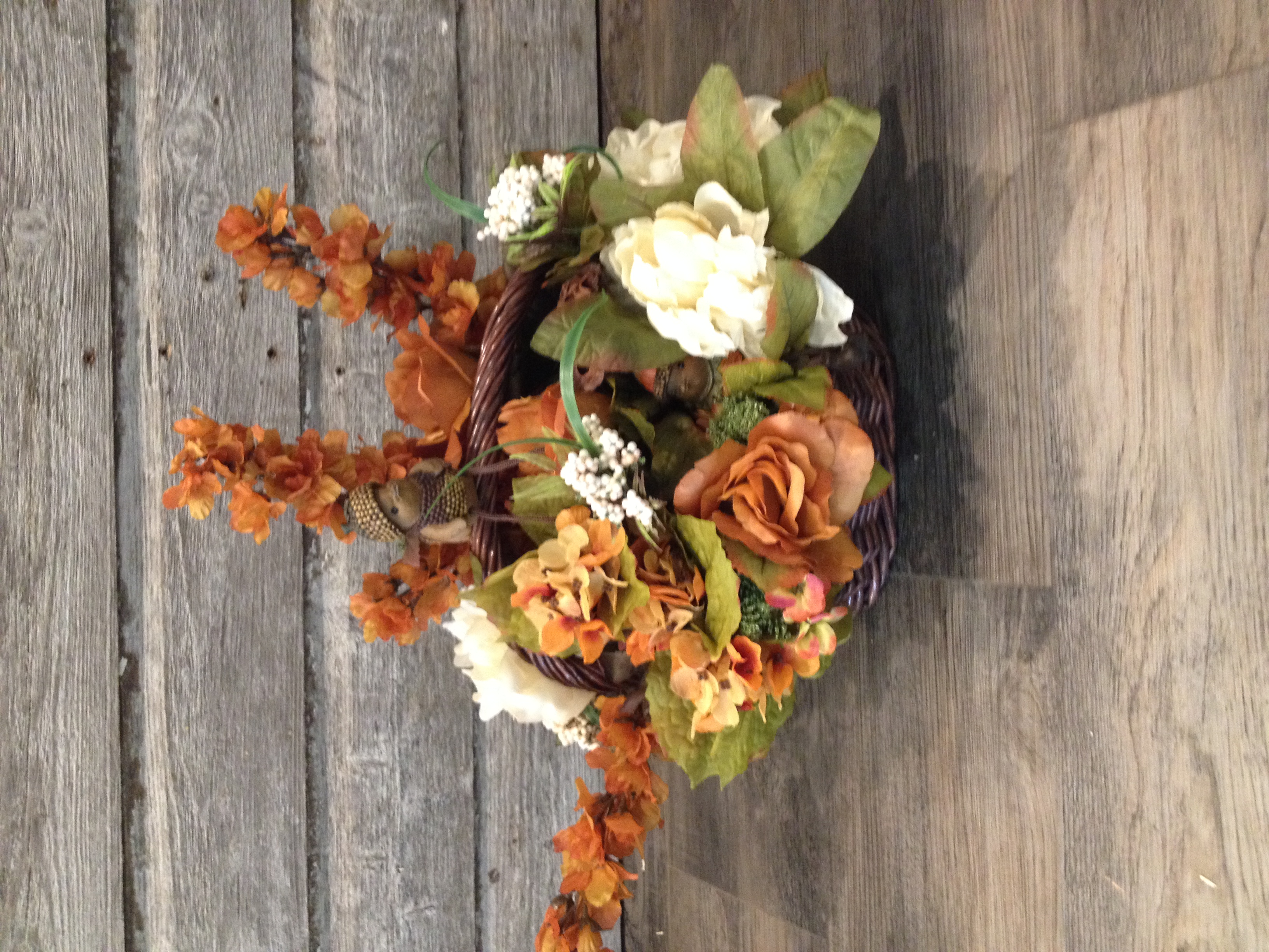 Fall Thanksgiving silk arrangement