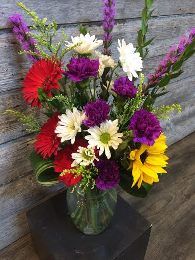 Gerbera daisies arrangement