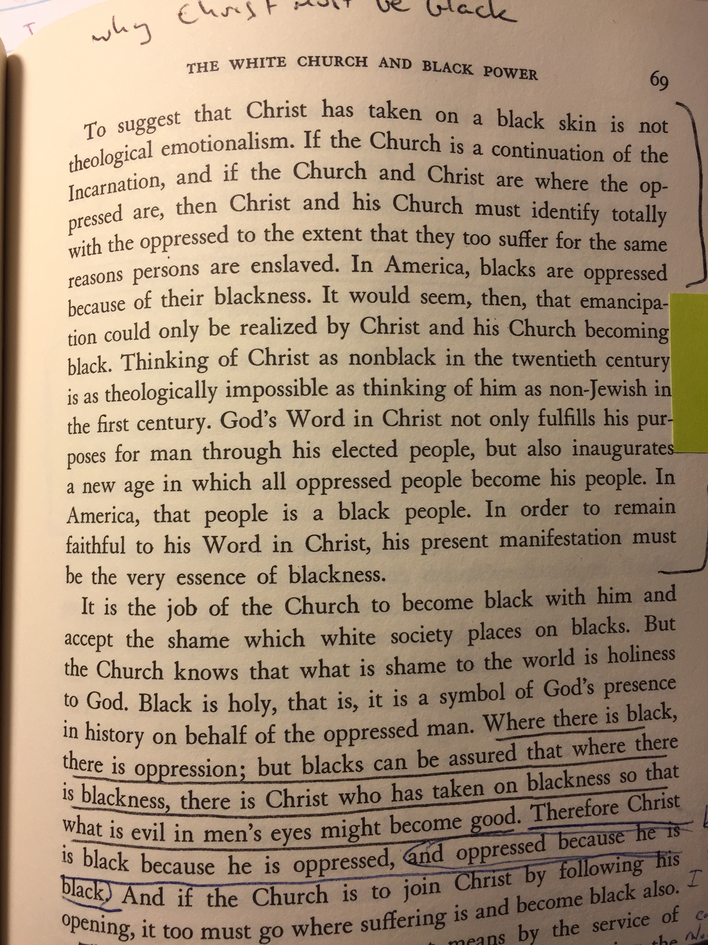 BTBP p 69 why Christ is black.JPG
