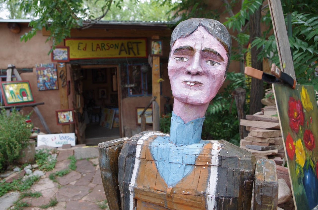 Ed Larson sculpture - 'Billy The Kid'.jpg