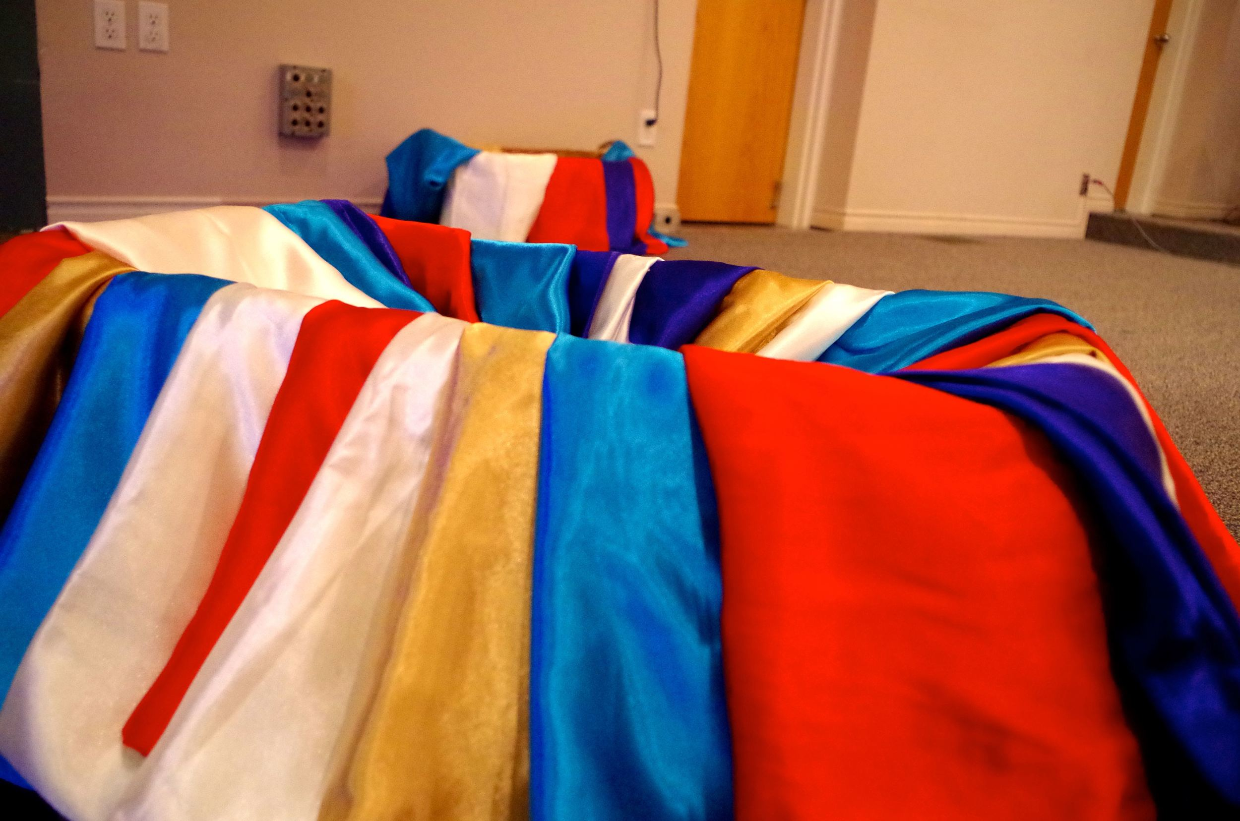 coloured robes