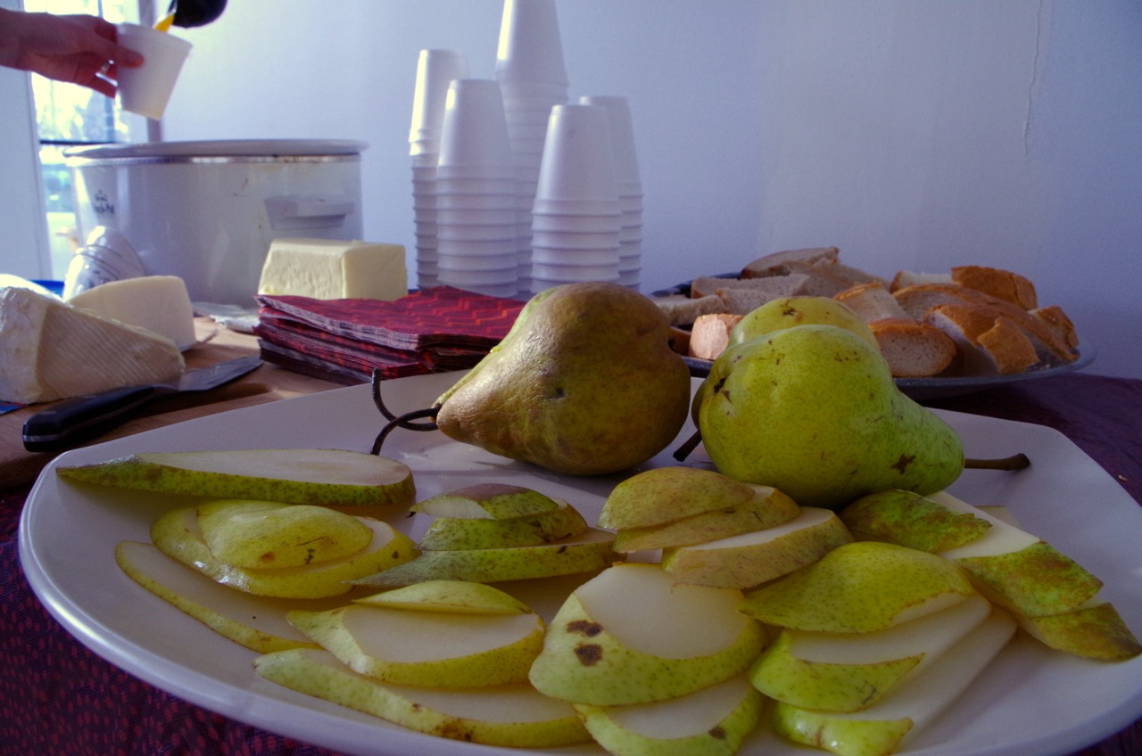 Pears and cider