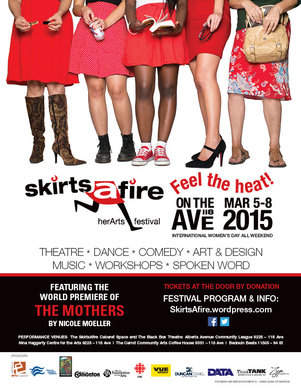 Official SkirtsAFire poster
