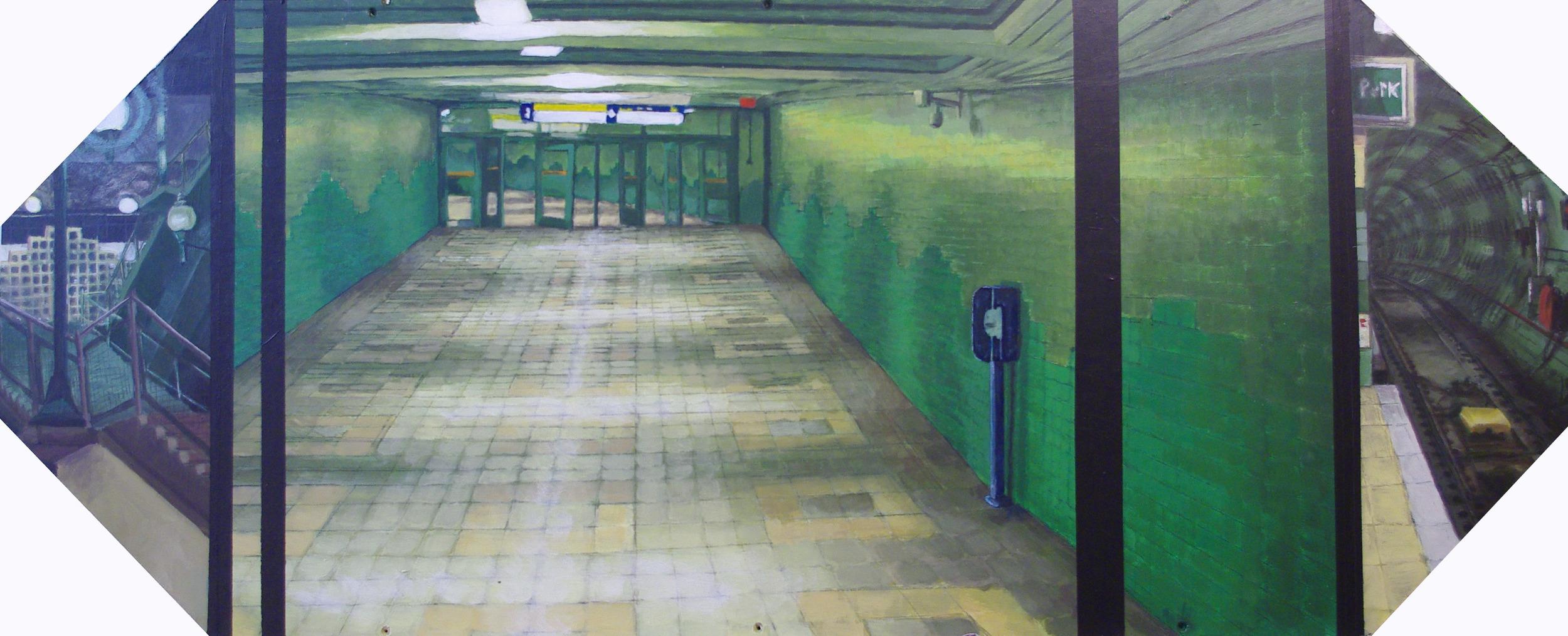 Intersect Subway Night,  Riley Tenove, 2015