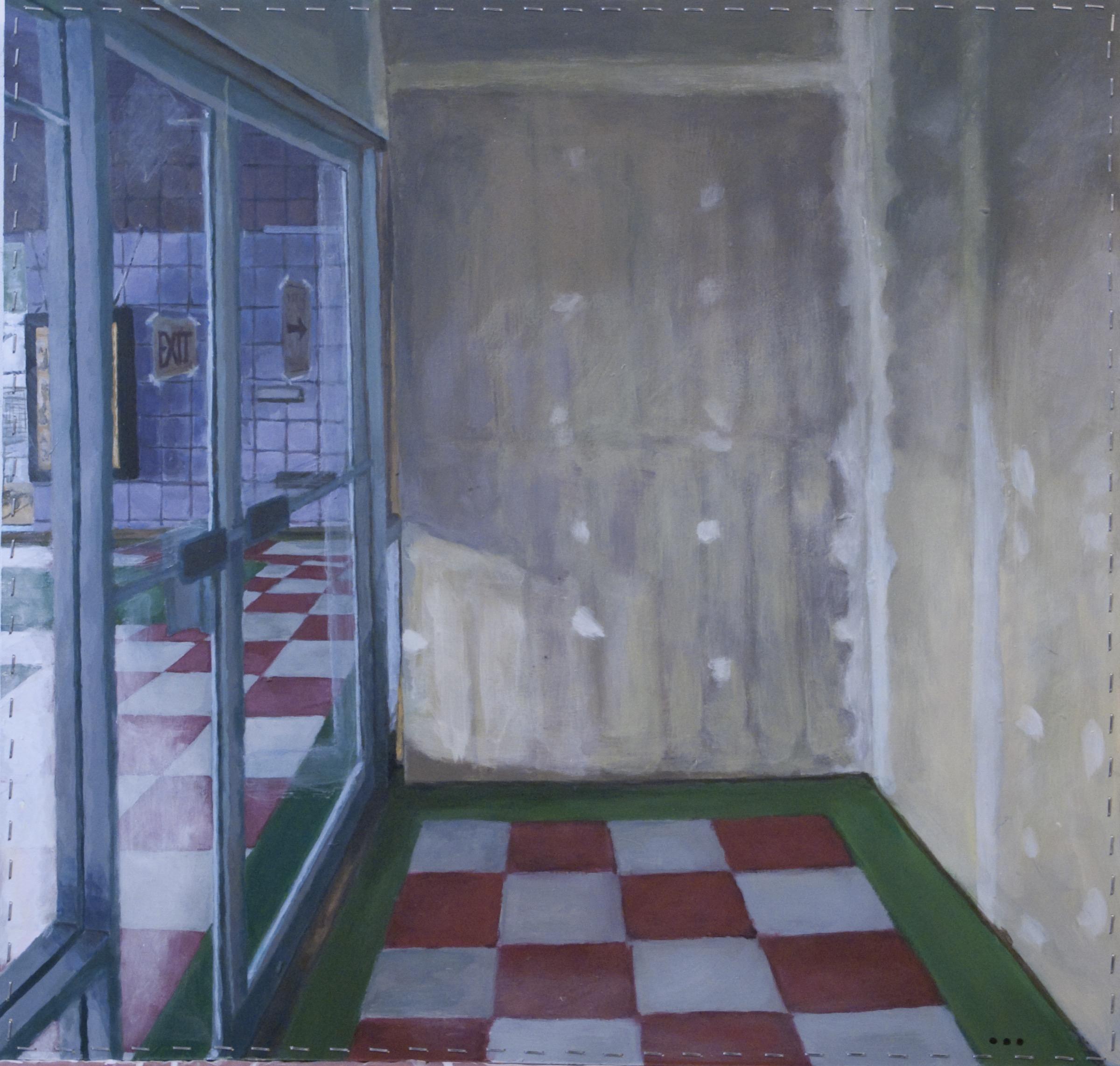 Exit (1/2 Drywall), Riley Tenove, 2014