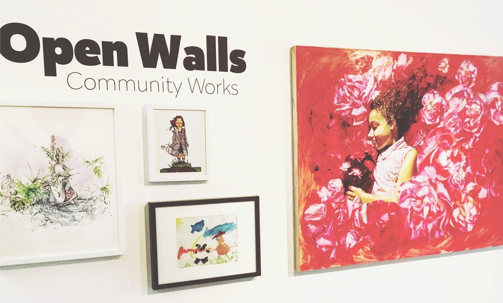 Open Walls 4 Dec 3 - 22 - Works from any and all artists will be on display in our 4th annual OPEN WALLS Exhibition each Saturday from December 8th - 22nd, 2018 11am - 3pm or by appointment.Any artist is welcome to contribute 1 work of their own to this non-juried exhibition. OPEN WALLS is a rolling-submission show, which means we will also take in work throughout the run of the show, when we are open, until our walls are full.