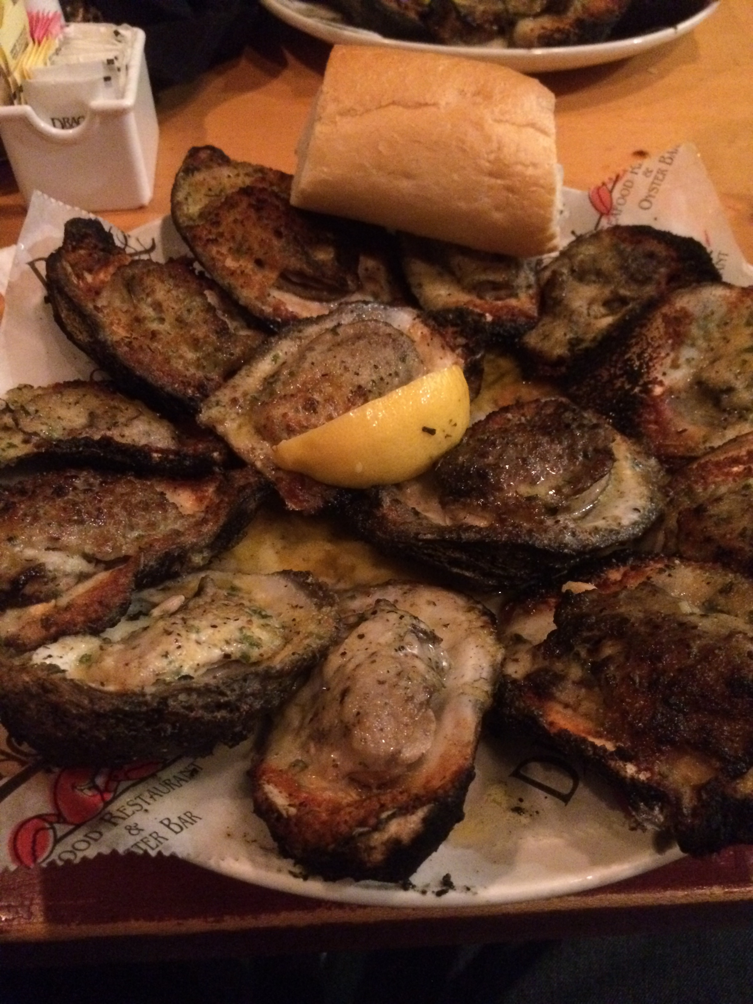 Oysters from Drago's