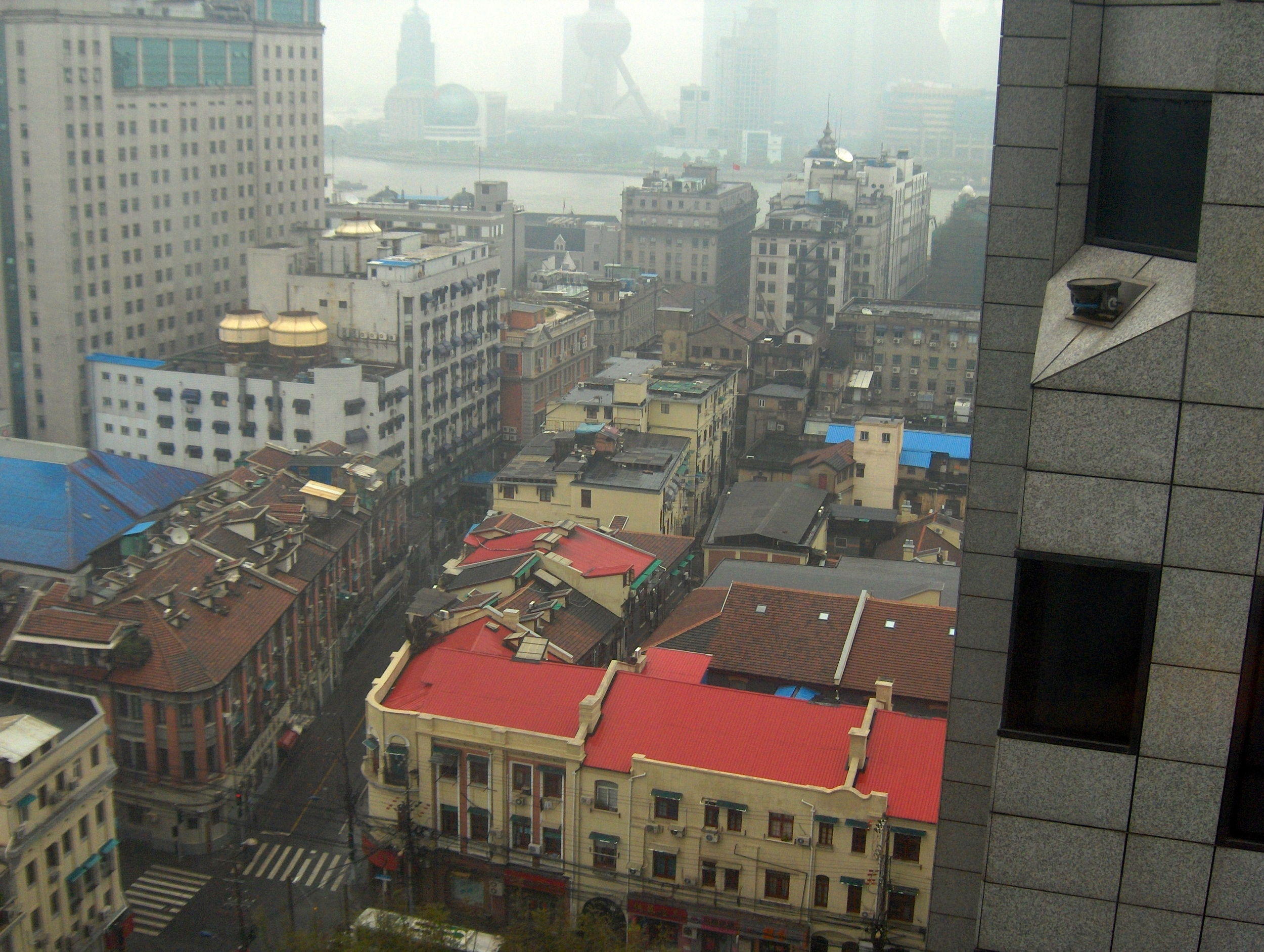 Shanghai Fog/Smog