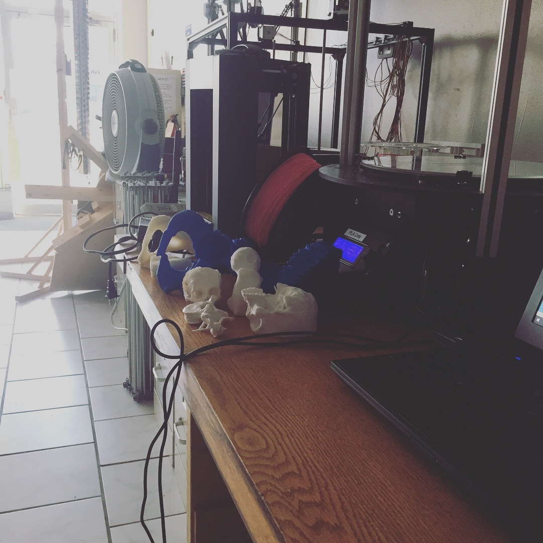 3D printing bench at Area515