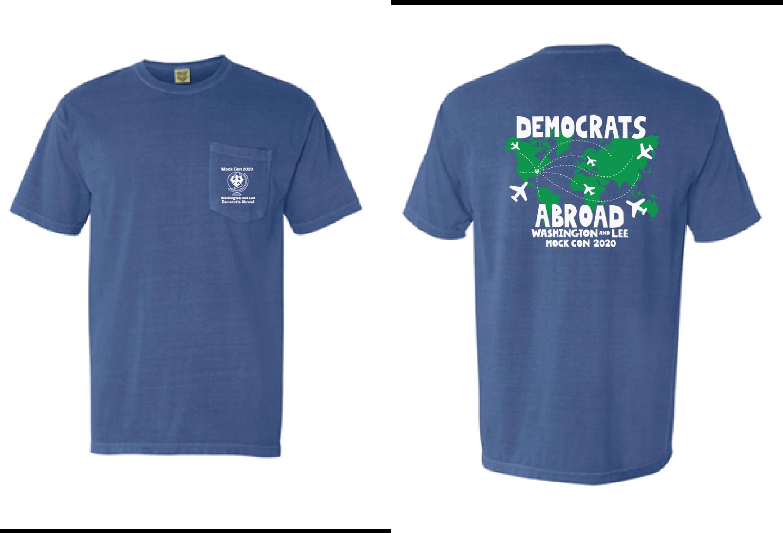Democrats Abroad Tee