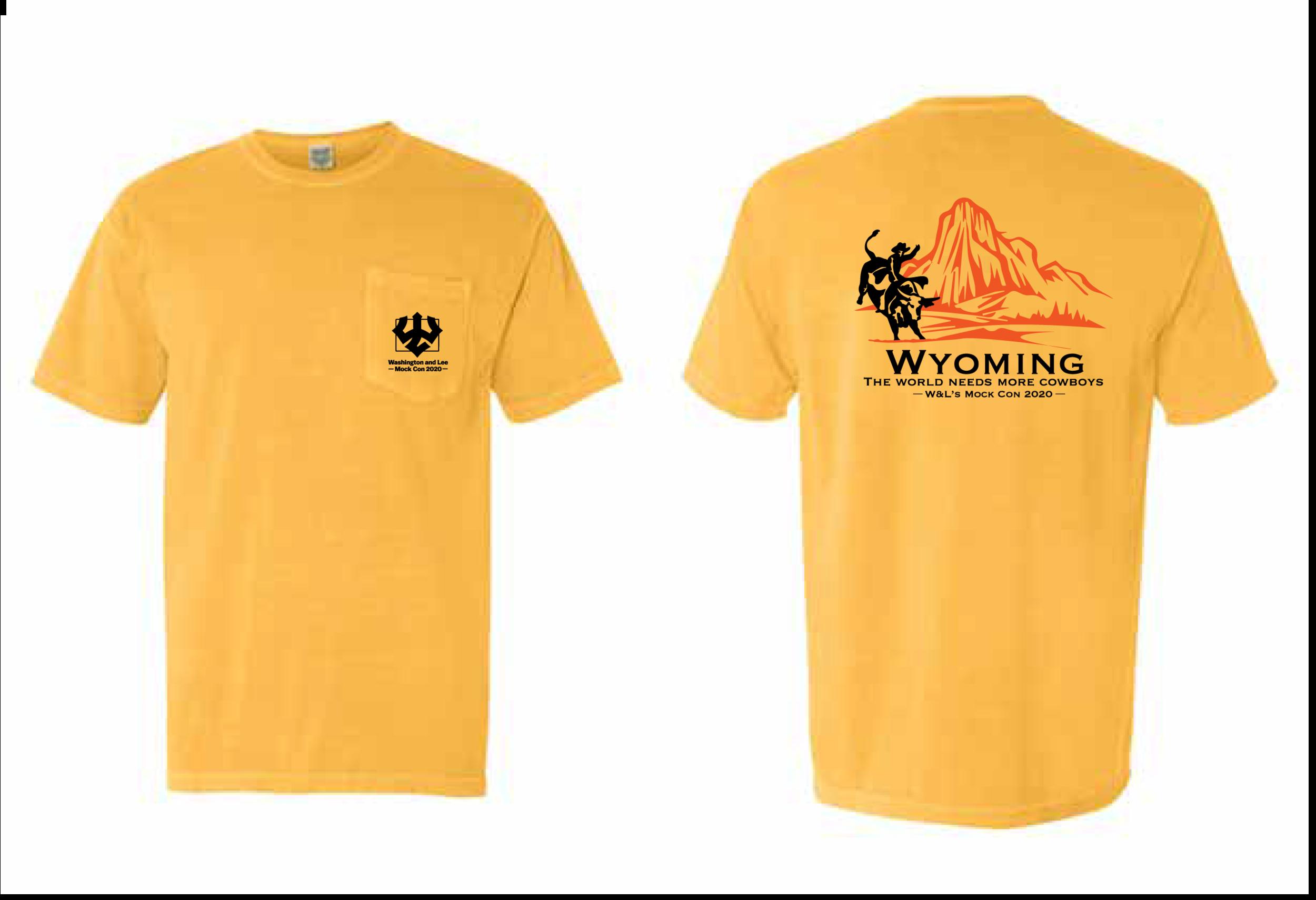 Wyoming State Tee
