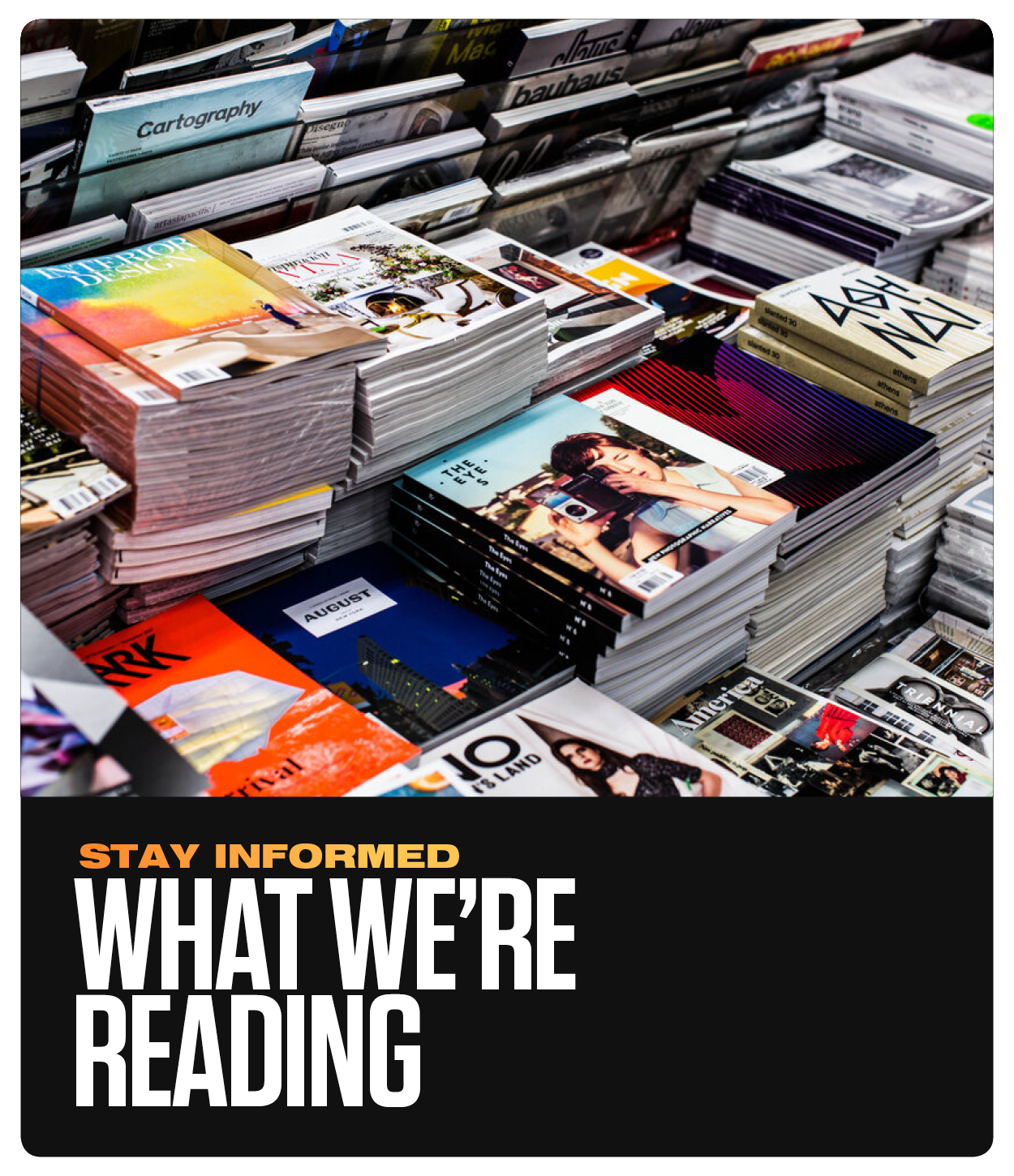 What we're reading tile.png