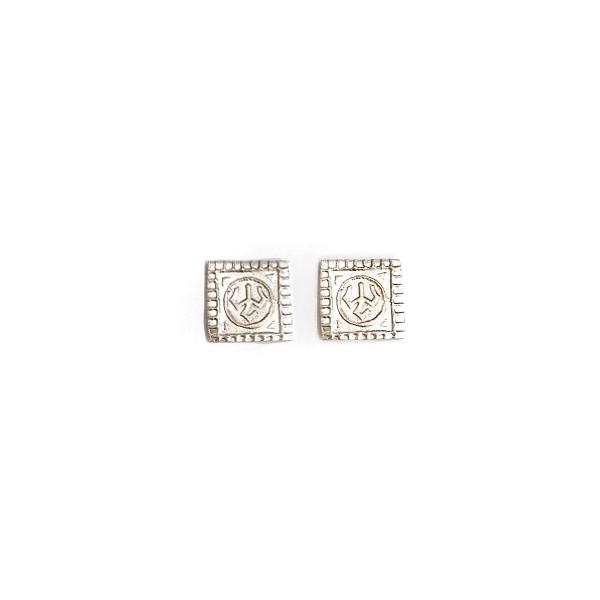 Lexington Brick Mock Con Post Earrings