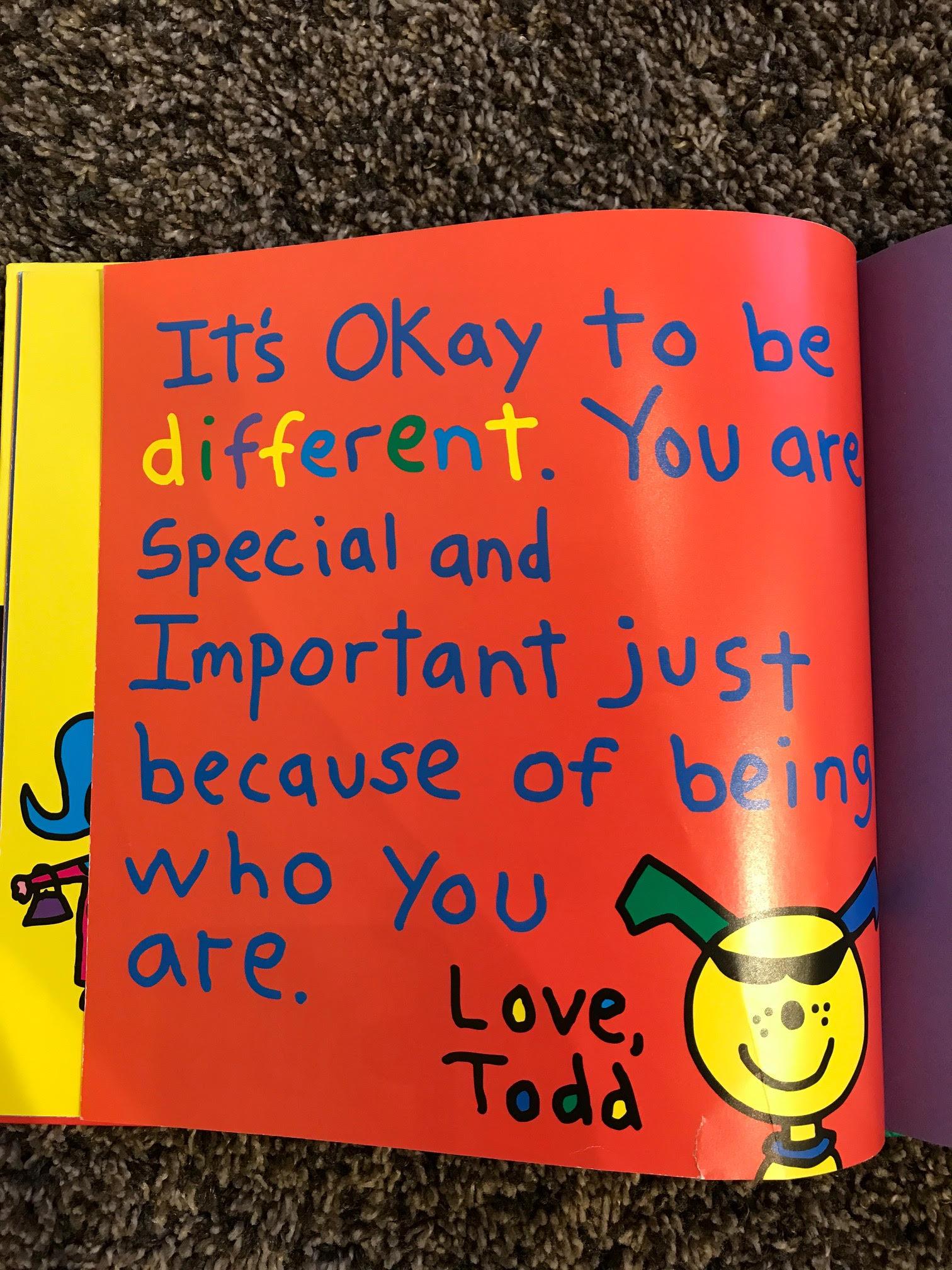 他の人と違っていてもいいじゃない☆ あなたがあなたであることがとても特別で大切なのです♪♪