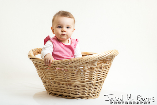 Snohomish Family Photographer, Jared M. Burns - Baby Portrait 2.jpg