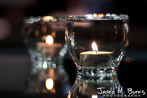 Duvall Wedding Photography - Candle Decor
