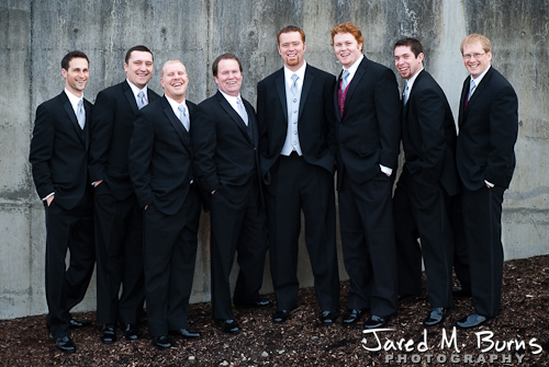 Duvall Wedding Photography - Groomsmen