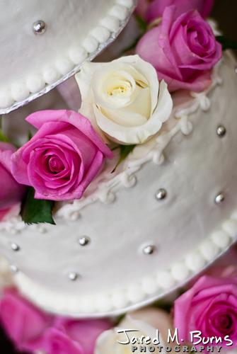 Duvall Wedding Photography - Cake Detail