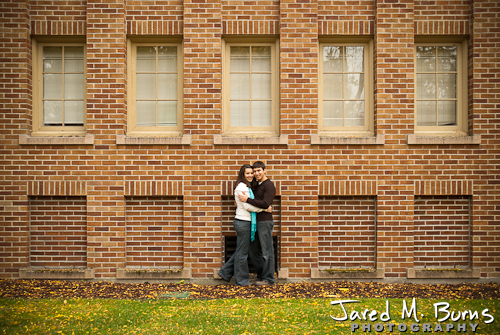 Seattle Engagement Photographer, Jared M. Burns - Couple from far away