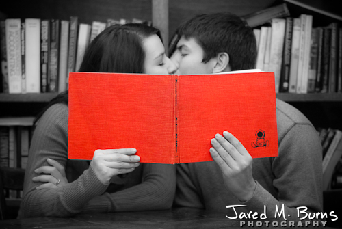 Seattle Engagement Photographer, Jared M. Burns - Couple Kissing