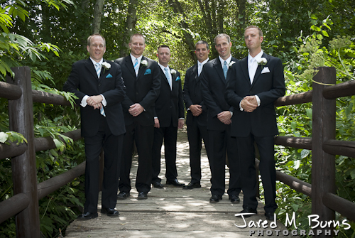 Mountain Springs Lodge Leavenworth Wedding Photographer - Groomsmen