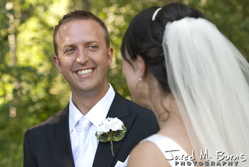 Mountain Springs Lodge Leavenworth Wedding Photographer - Groom and Bride