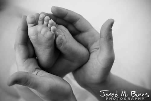 Snohomish Family Photographer, Jared M. Burns - Newborn Portrait 2.jpg