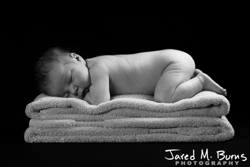 Snohomish Family Photographer, Jared M. Burns - Newborn Portrait 6.jpg