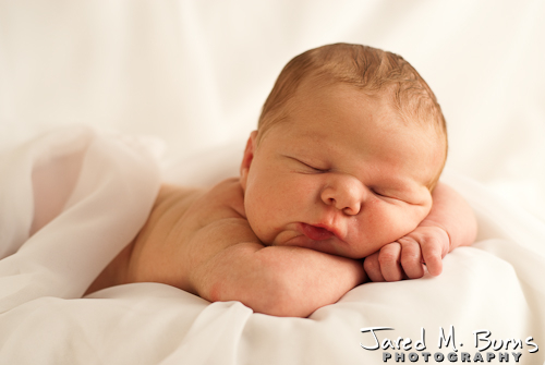 Snohomish Family Photographer, Jared M. Burns - Newborn Portrait 11.jpg