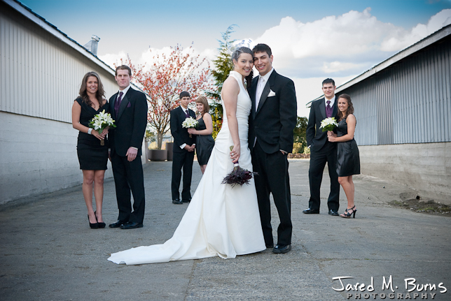 Jared M. Burns Photography Snohomish - Kara & Ryan Wedding - Party