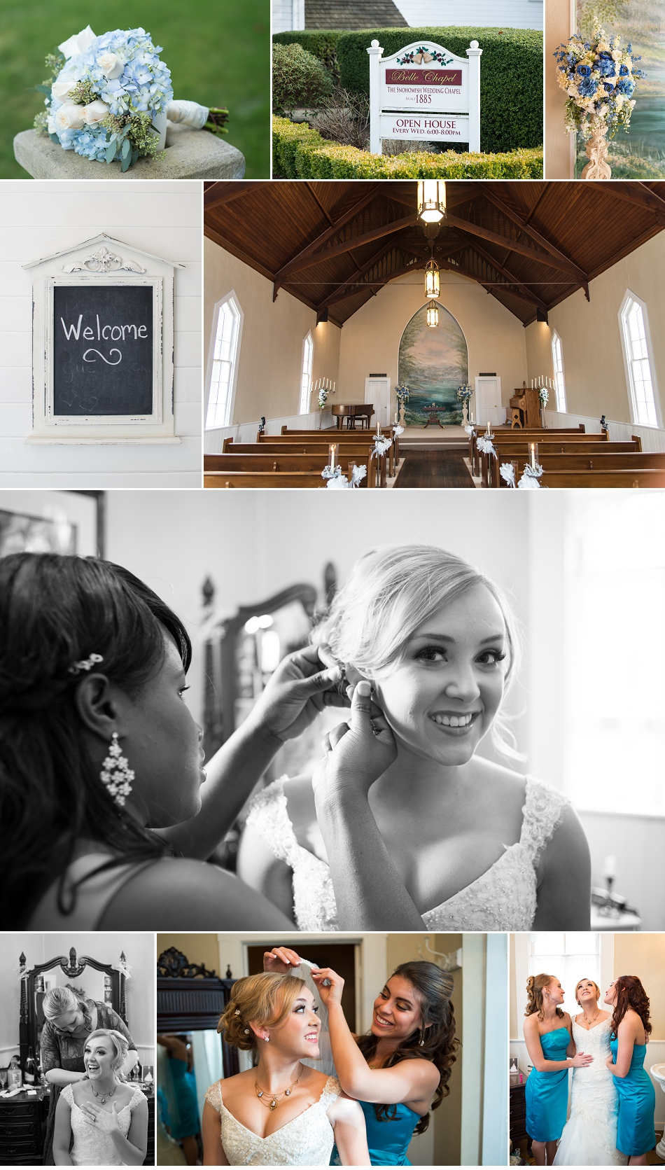 Belle Chapel Wedding Photographer, Snohomish, WA - Jared M. Burns (1)