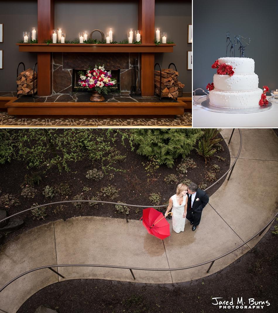 Salish Lodge at Snoqualmie Falls Winter Wedding - Jared M. Burns Photography (4)