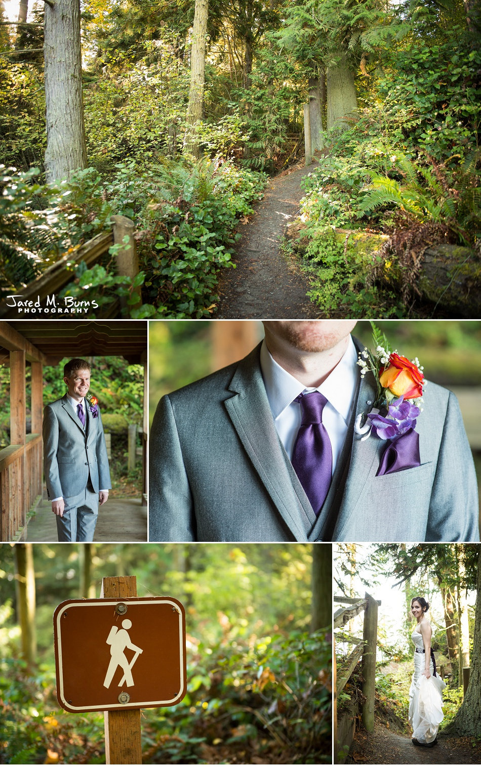 Kyle & Stephanie - Echo Falls and Washington Ferry Wedding Photographer - Jared M. Burns Photography 1