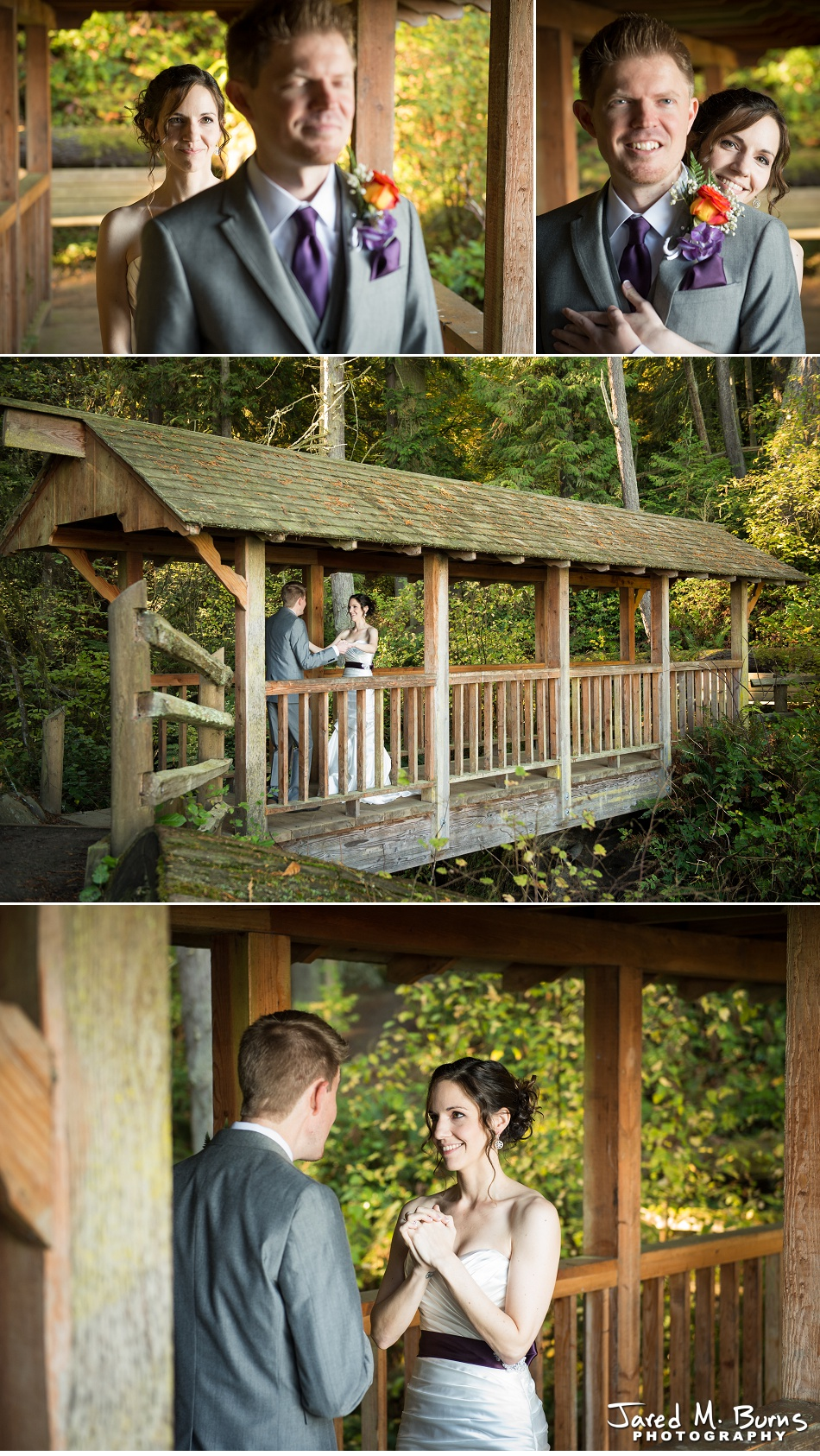 Kyle & Stephanie - Echo Falls and Washington Ferry Wedding Photographer - Jared M. Burns Photography 2