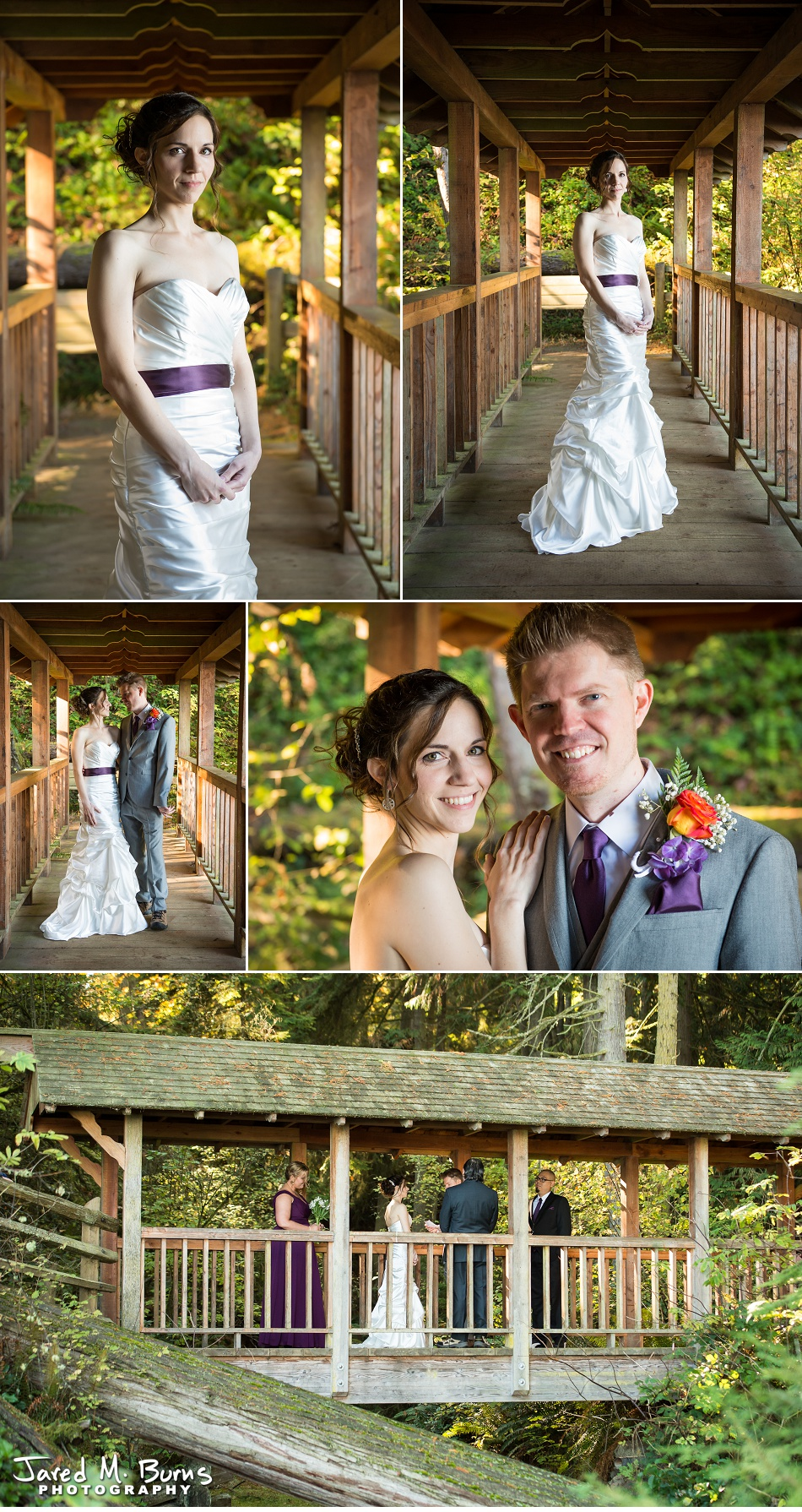 Kyle & Stephanie - Echo Falls and Washington Ferry Wedding Photographer - Jared M. Burns Photography 3