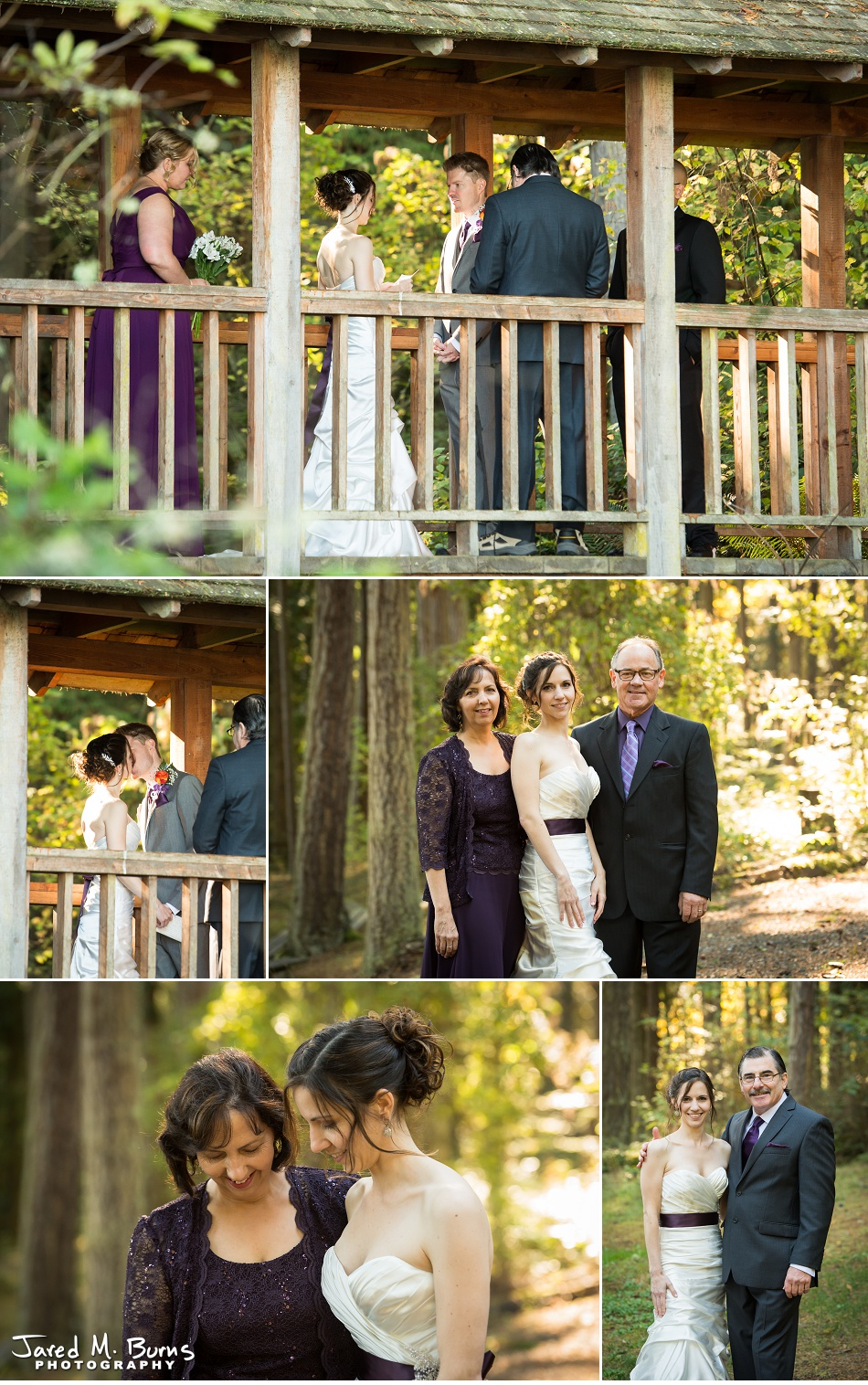 Kyle & Stephanie - Echo Falls and Washington Ferry Wedding Photographer - Jared M. Burns Photography 4