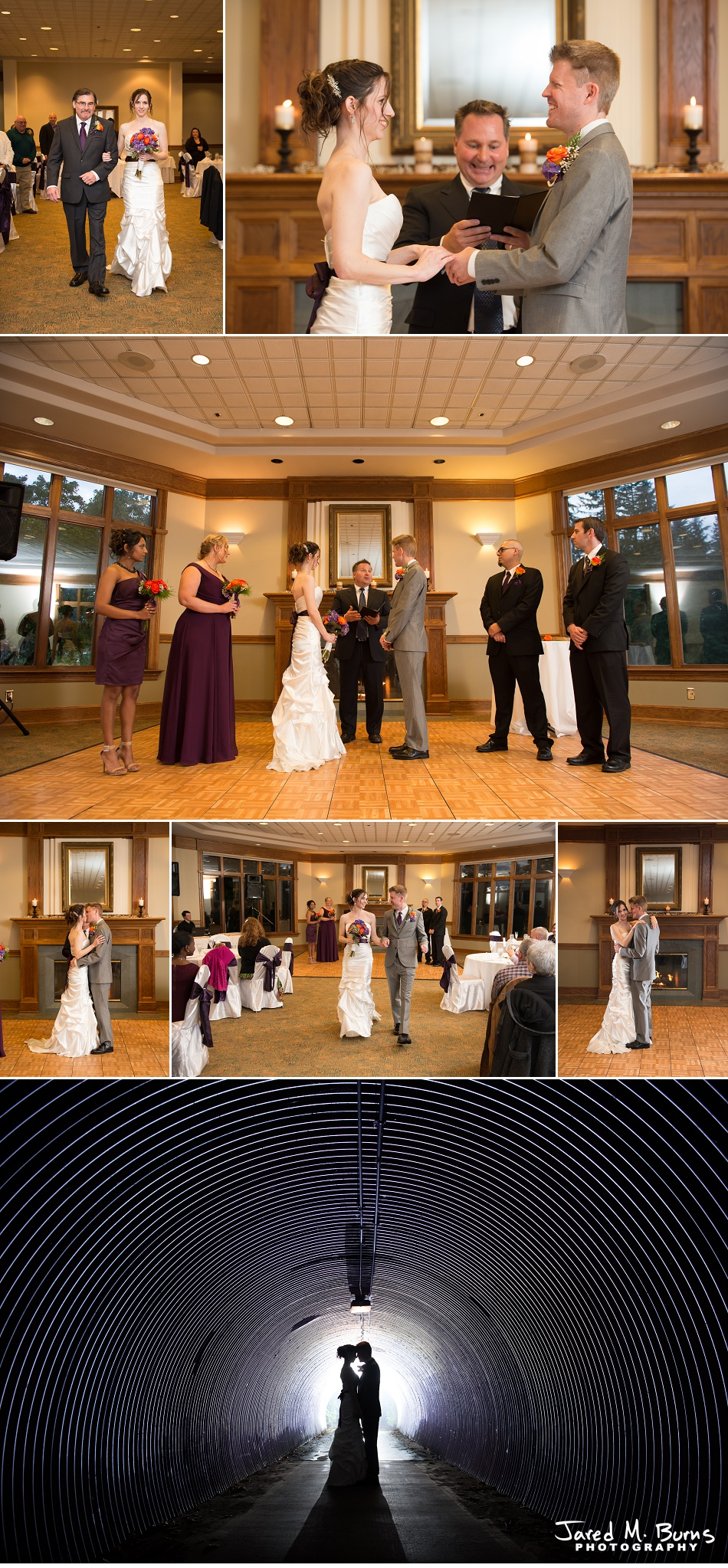 Kyle & Stephanie - Echo Falls and Washington Ferry Wedding Photographer - Jared M. Burns Photography 7