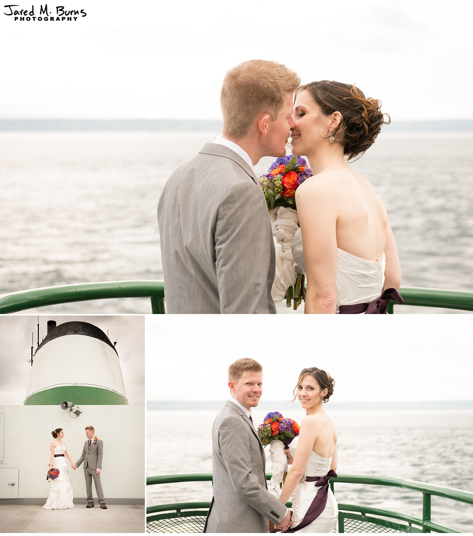 Kyle & Stephanie - Echo Falls and Washington Ferry Wedding Photographer - Jared M. Burns Photography 5