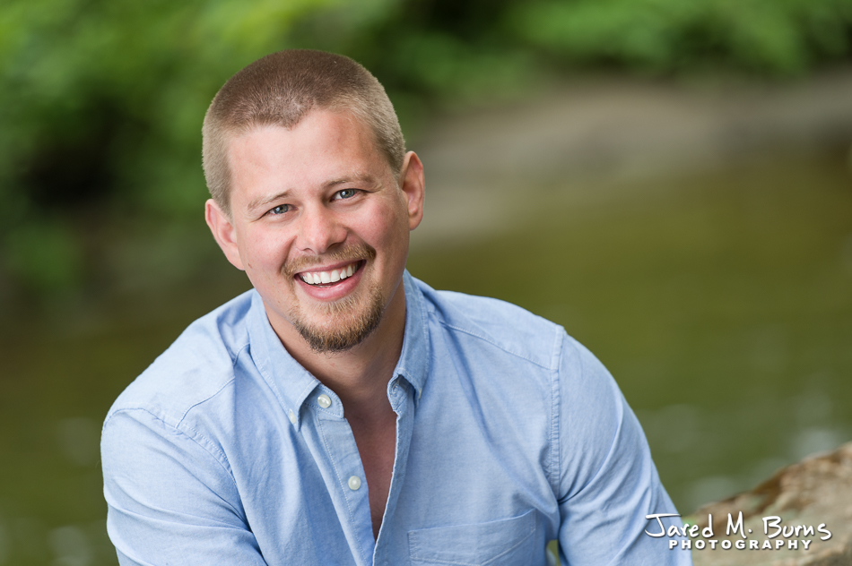 Seattle & Snohomish Business Headshot Photographer, Jared M. Burns - Casual man headshot.jpg