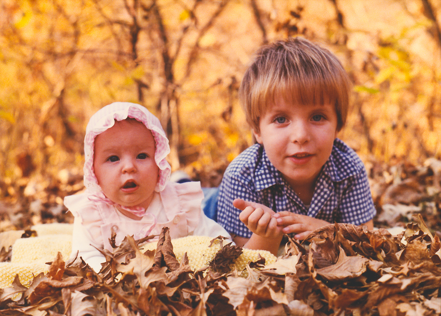 My sister and I a long time ago.