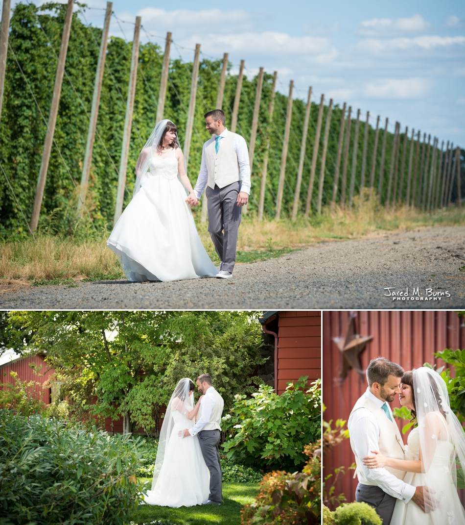 Seattle Wedding Photographer, Jared M. Burns - Destination Wedding in Oregon