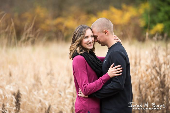 Jared M Burns Photography - Snohomish Fall Family Portrait in Tall Grass.jpg