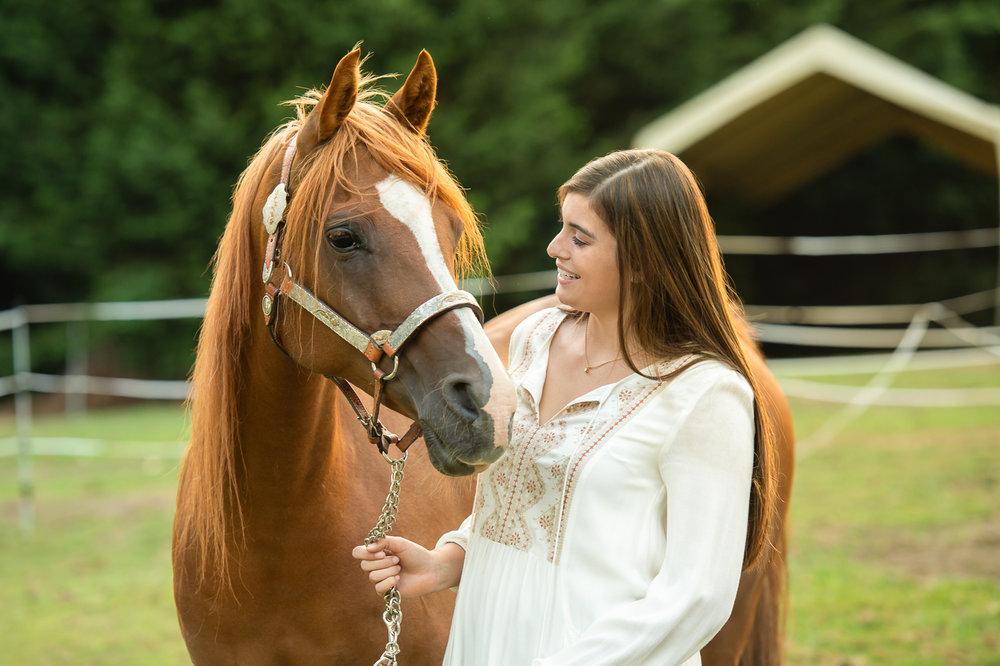 Snohomish Senior Grad  Girl Portrait with Horse - Jared M Burns.jpg