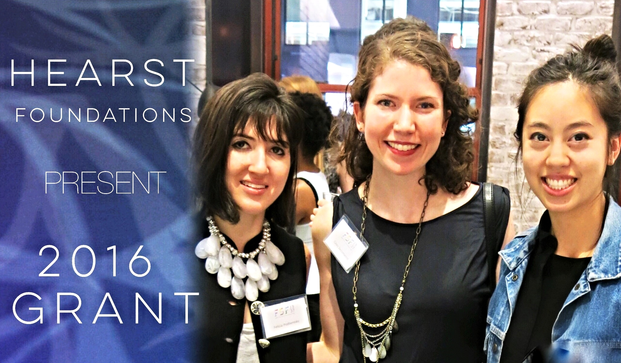 HEARST Awards YMA Fashion Scholarship Fund With Grant To Create The Hearst Winter and Summer Institutes.