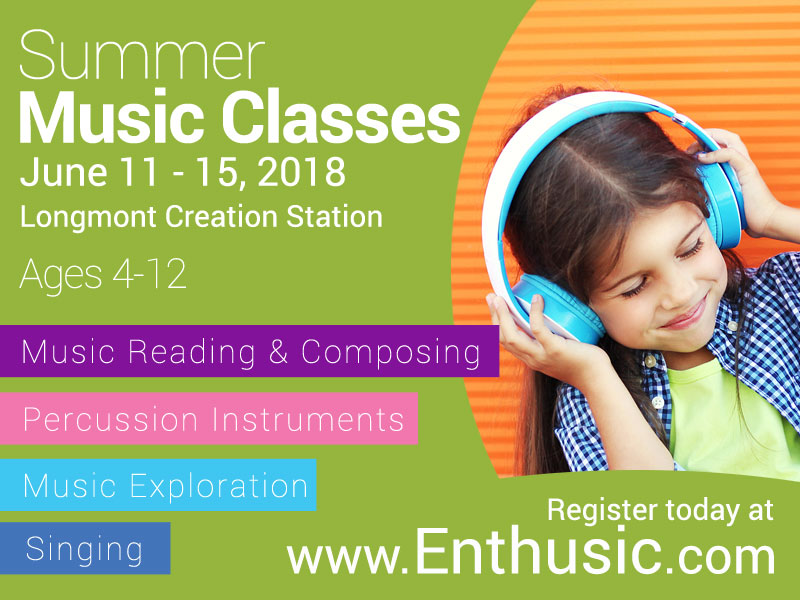 Sign-up today! - Sign your kids up for some music exploration this summer.
